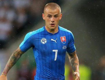 Футболист сборной Словакии пропустит матч из-за ареста полицией