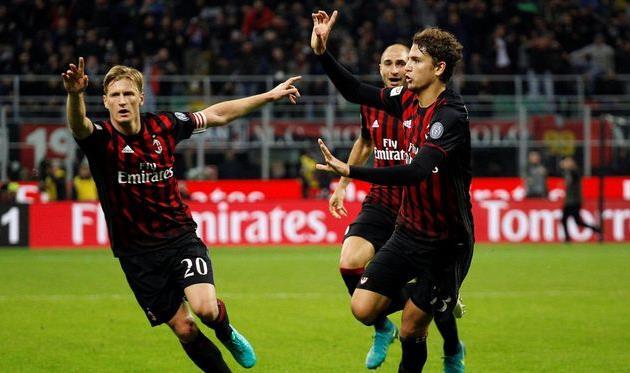 «Милан» обыграл «Ювентус» в центральном матче тура в Италии (фото)