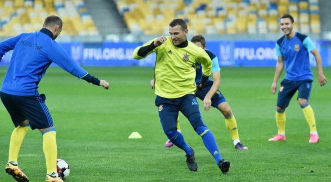 Украина может провести товарищеский матч с Сербией