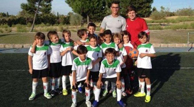 Криштиану Роналду-младший дебютировал в футболе, забив гол