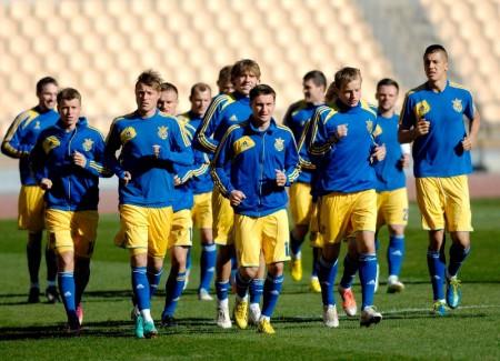 Сборная Украины может провести спарринг с командой Сербии