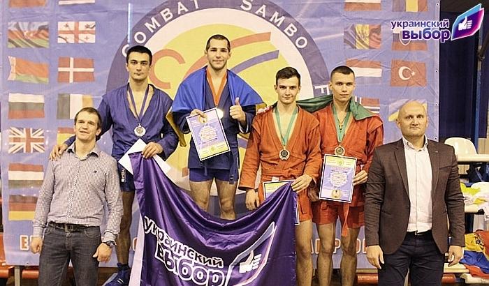 Украина заняла первое место на чемпионате Европы по боевому самбо (фото)
