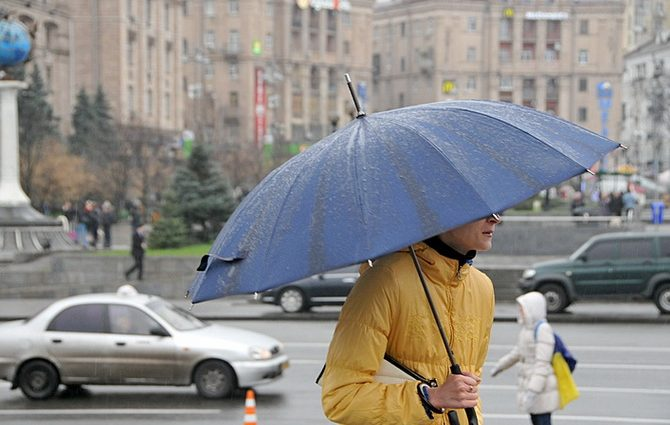 Завтра на Украине будет очень непредсказуемая погода