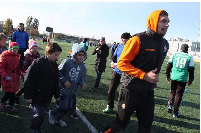 «Шахтер» начал подготовку футбольных тренеров-волонтеров (фото)