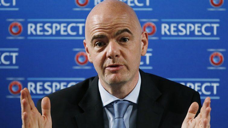 Президент ФИФА предложил изменить формат чемпионата мира