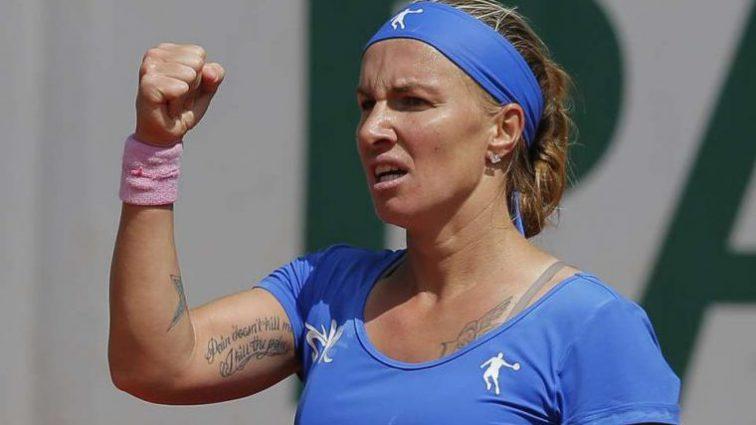 Светлана Кузнецова выиграла первый матч Итогового чемпионата WTA (фото)