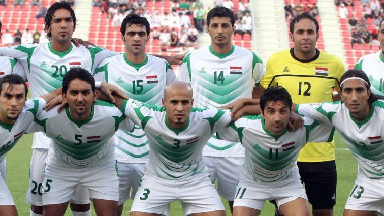 Иракские футболисты устроили кровавый ритуал (фото)
