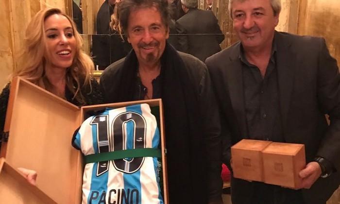 Аль Пачино зачислен в ряды болельщиков Расинга