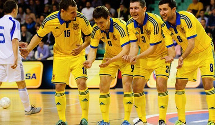 Украина уничтожает соперника и выходит на чемпионат мира (фото)