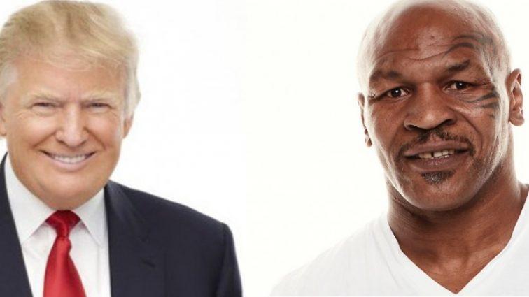 История Майка Тайсона и 45 президента США Дональда Трампа.