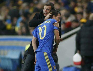 Коноплянка: «С приходом Шевченко сборная Украины стала единой семьей»