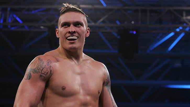 Александр Усик в первой защите титула WBO сразится с чемпионом Европы Дамиром Бельйо