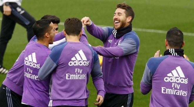 Рамос организовал шумную вечеринку для игроков «Реала» по случаю победы над «Атлетико»