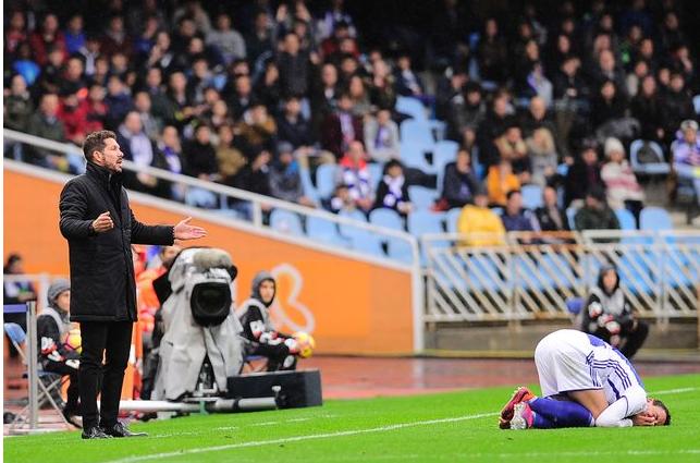 «Реал Сосьедад» обыграл «Атлетико» и вошел в «зону еврокубков» (фото)