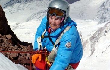 Украинская пенсионерка собралась покорить Эверест