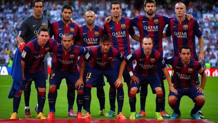 Барселона подружится с Али-Бабой