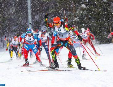 Биатлонистки соревнуются в индивидуальной гонке