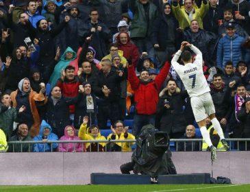 Роналду забил юбилейный гол за «Реал»