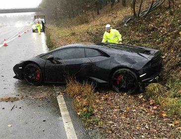 Полузащитник «Лестера» разбил Lamborghini за 200 тысяч