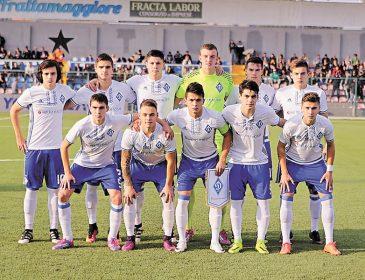 Девятнадцатилетние динамовцы вышли в плей-офф юношеской Лиги чемпионов