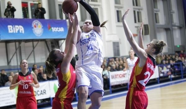 Украинские баскетболистки вышли на Евро-2017