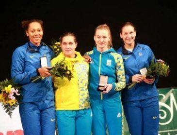 Украинская женская команда по фехтованию завоевала «золото» на этапе Кубка мира в Китае