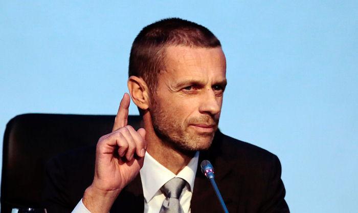 Президент УЕФА прибыл с визитом в Киев