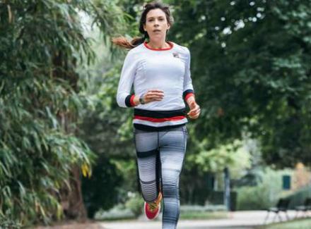 Победившая тяжелую болезнь чемпионка Уимблдона приняла участие в Нью-Йоркском марафоне