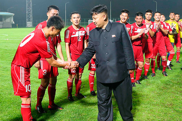 В Северной Корее намерены воспитывать футболистов, которые будут превосходить Месси
