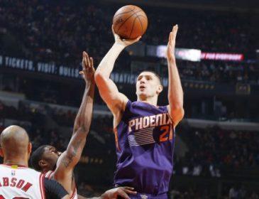 Украинский баскетболист сыграл лучший матч сезона NBA