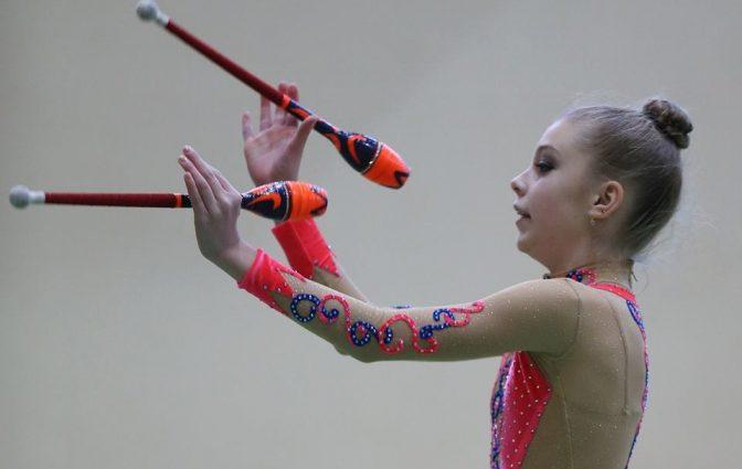 Львовская гимнастка Кристина Пограничная выиграла турнир в Бельгии с рекордом Украины