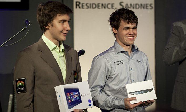 Карякин и Карлсен сыграть вничью уже пять партий подряд