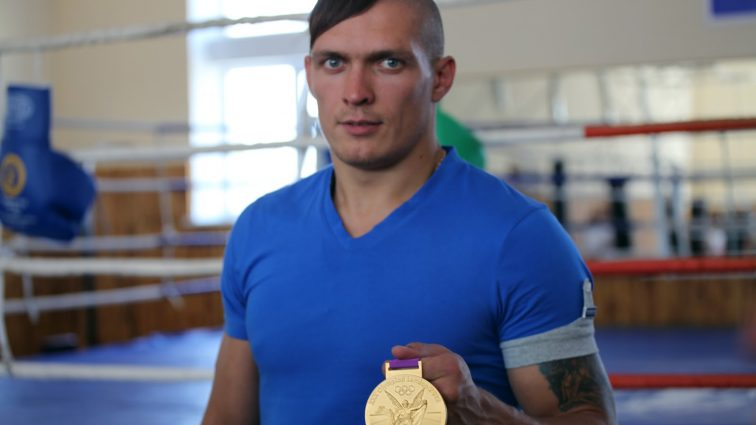 Александр Усик хочет боя с российским чемпионом