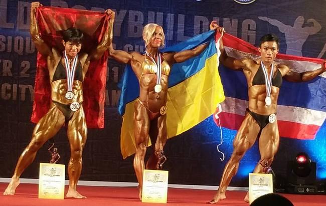 Чемпионкой мира по бодибилдингу стала украинка