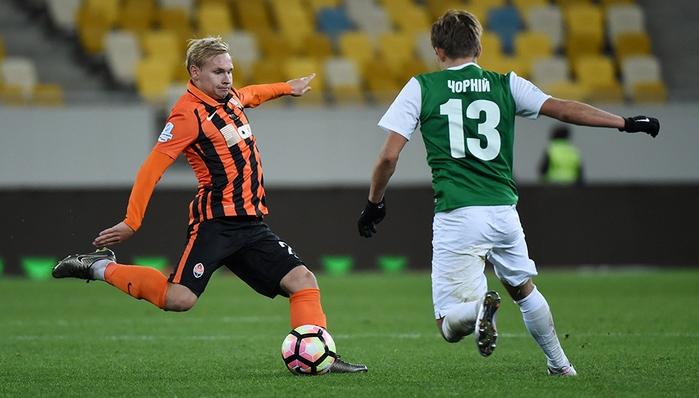 Танковский дебютирует в основе Шахтера в матче Лиги Европы
