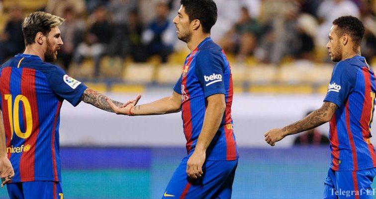 «Барселона» объявила о продлении контракта с Суаресом