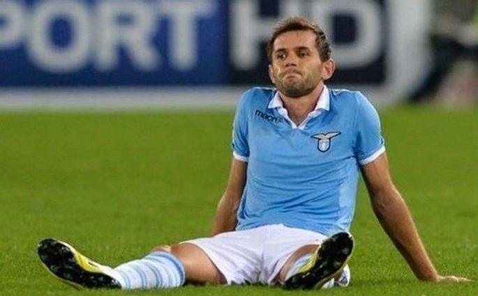 Защитника Лацио могут дисквалифицировать на десять матчей