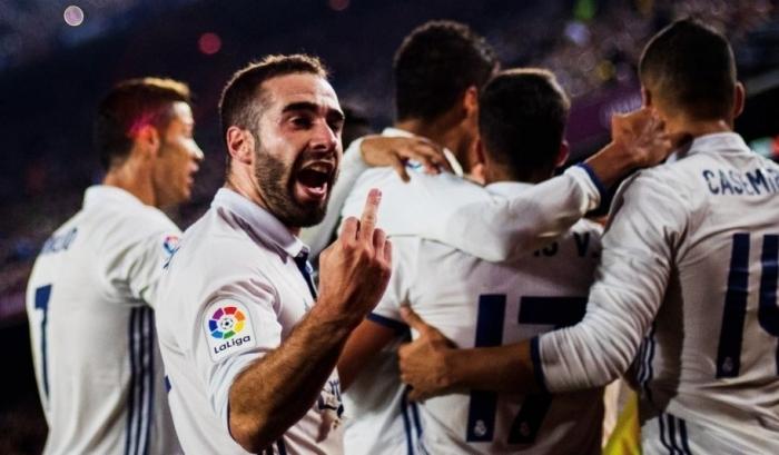 Защитник «Реала» оскорбил фанатов «Барселоны»