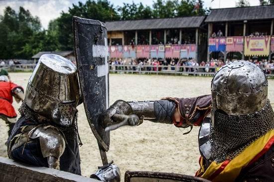 Теперь средневековый бой — вид украинского спорта