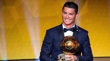Криштиану Роналду выиграл «Золотой Мяч»