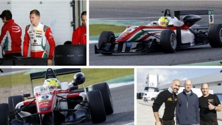 Сын Шумахера дебютировал в Формуле-3
