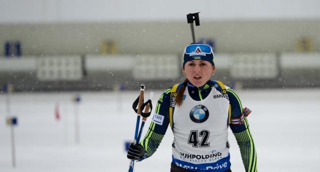 В одиночной смешанной эстафете на ЧЕ украинцам не хватило до медали всего несколько секунд