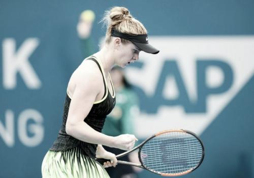 Элина Свитолина вышла в четвертьфинал турнира в Брисбене