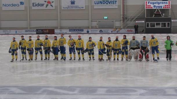 Сборная Украины заняла пятое место на чемпионате мира по бенди
