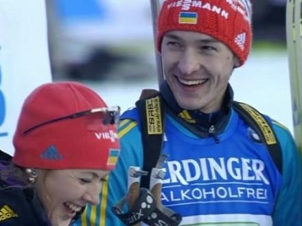 Спорт — это тоже политика: украинские биатлонисты покинули пьедестал, во время звучания гимна России