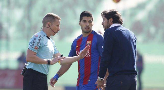 Судья скандального матча «Бетис» – «Барселона» сделал фантастические ошибки в протоколе