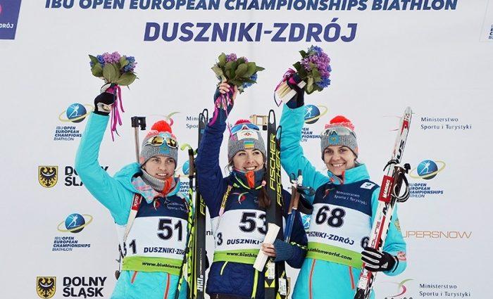 Обогнала всех! Украинская биатлонистка Юлия Джима добилась триумфа на чемпионате Европы