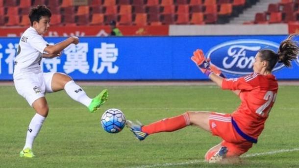 Женская сборная Украины по футболу проиграла Таиланда