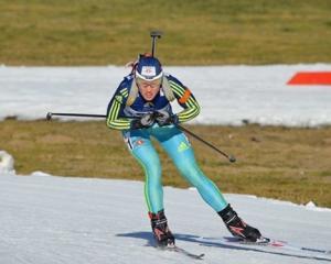 Украинская биатлонистка завершила с медалью стартовую гонку ЧЕ