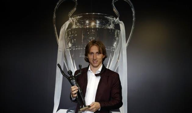 Модрич в пятый раз признан лучшим футболистом Хорватии
